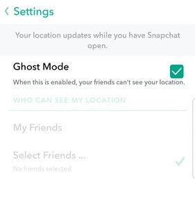Ghost mode